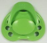 "HoneyBug Sweetheart Newborn Pacifier for 18"" Dolls-Apple Green"