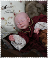Henry Reborn Vinyl Doll Kit by Jamie Lynn Powers Great Value Price!