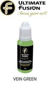 Ultimate Fusion All in One Air Dry Paint Green Vein 12ml Bottle (.4 ounce)