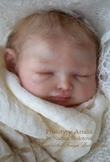 Arisha Reborn Vinyl Doll Kit by Nadezda Dolotova