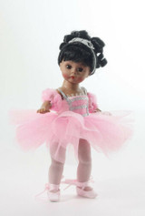 "Madame Alexander Sparkling Ballerina - Wendy 8"" Collectible Doll 69926 Brunette"