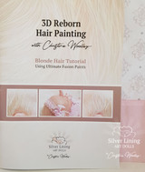 3D Blonde Hair Painting Illustrated Book by Christine Woolley