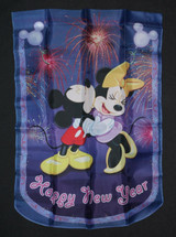 Mickey and Friends Happy New Years Outdoor Decorative Flag