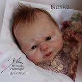 Bianka Reborn Vinyl Doll Kit by Doris Moyers Hornbogen