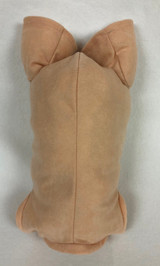 """German Doe Suede Body for 24-26"""" Dolls Full Unjointed Arms 3/4 Jointed Legs #1496GF"""