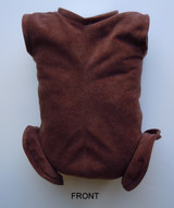 """German Doe Suede Body for 19-21"""" Dolls Full Unjointed Arms Full Jointed Legs #570GE"""