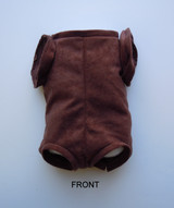 """German Doe Suede Body for 15-16"""" Dolls Full Jointed Arms Full Unjointed Front Legs #1616GE"""
