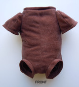 """German Doe Suede Body for 24-26"""" Dolls 3/4 Jointed Arms Full Unjointed Legs #525GE"""