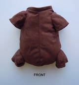 """German Doe Suede Body for 16"""" Dolls 3/4 Jointed Arms 3/4 Jointed Legs #1483GE"""