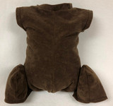 """German Doe Suede Body for 24-26"""" Dolls Full Unjointed Arms 3/4 Straight Jointed Legs #1715GE"""