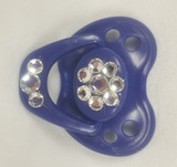 Super Hero Blue Honeybug Blingy Baby Pacifier with Swarovski Crystals 2020-42