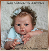 Lauri Vinyl Doll Head by Elisa Marx - HEAD ONLY
