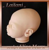 Lailani Vinyl Doll Head by Elisa Marx - HEAD ONLY