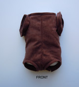 """Doe Suede Ethnic Body for 19-21"""" Dolls Full Jointed Arms Full Unjointed Bent Legs #588GE"""