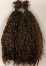 Irresistables Curly High Quality Premium Yearling Mohair Deep Warm Brown 1 oz.