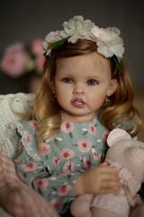 Cressida  Reborn Vinyl Toddler Doll Kit by Ping Lau