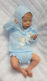 Mia Reborn Finished Baby Girl Collectors Doll sculpted by Irina Kaplanskaya
