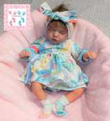 Twin B Finished Reborn Doll Sculpted by Bonnie Brown and Reborn by Esther Orlando