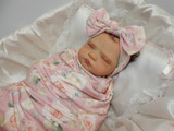 Jack Reborn Finished Baby Girl Collectors Doll sculpted by Nikki Johnston