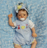 Santina Reborn Finished Baby Girl Collectors Doll sculpted byPing Lau