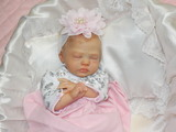 Zori Reborn Finished Baby Girl Collectors Doll sculpted by Dawn Murray McCleod