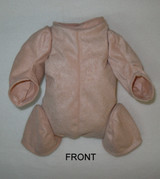 """Doe Suede Body for 17"""" Dolls 1/4 Jointed Arms 3/4 Jointed Legs #1590"""
