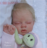 Ariella Reborn Vinyl Doll Head by Reva Schick - Head Only