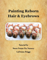New Tutorial Book, Painting Reborn Hair and Eyebrows, LaDonna Briggs