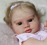 Beatriz  Reborn Vinyl Doll Kit by Ligia Vittore