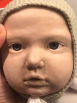 Amal Reborn Vinyl Doll by Ebtehal Abul