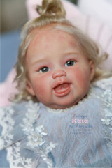 Kaia Our One Tooth Wonder Reborn Vinyl Doll Kit by Ping Lau - Head Only
