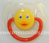 Magnetic Pacifier for Newborn and Toddler Dolls Ducky