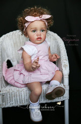 Benjamin Limited Edition  Reborn Vinyl Doll Kit by Natali Blick