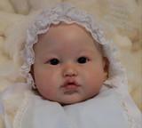 Lea Reborn Vinyl Doll Head by Ping Lau - Head Only