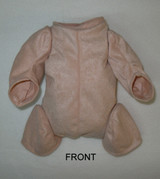"""German Doe Suede Body for 19-21"""" Dolls 1/4 Jointed Arms 3/4 Jointed Legs #1462GF"""