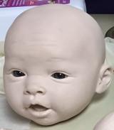 Amelia Reborn Vinyl Doll Head by Ping Lau - Head Only