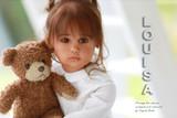 Louisa Reborn Vinyl Doll Kit by Sigrid Bock