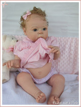 "Tummy Plate For 26-28"" Doll Kits by Adrie Stoete"
