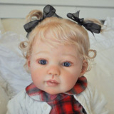 Louisa Reborn Vinyl Doll Kit by Jannie De Lange
