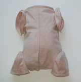 "Doe Suede Body for 22-24"" Dolls Full Jointed Arms 3/4 Jointed Legs #700"
