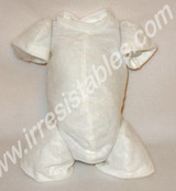 """German Flannel Body for 10-11"""" Dolls 3/4 Jointed Arms 3/4 Jointed Legs #1222GW"""