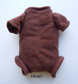 """Doe Suede Ethnic Body for 17-18"""" Dolls 3/4 Jointed Arms Full Jointed Legs #503GE"""