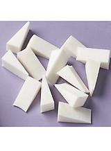 Cosmetic Foam Sponge Wedges 20 piece package for Reborning Latex Free