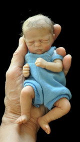 Marley Mini Reborn Vinyl Doll Kit by Marita Winters