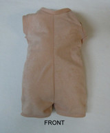 "Doe Suede Body for 22-24"" Dolls Full Unjointed Arms Straight Legs #515ST"
