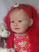 Perla Reborn Vinyl Doll Kit by Jannie De Lange