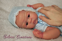 Bailey Reborn Vinyl Doll Kit by Sandy Faber
