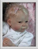 Chloe Reborn Vinyl Doll Kit by Ann Timmerman
