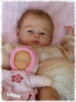 Carmela Reborn Vinyl Doll Kit by Sheila Michael