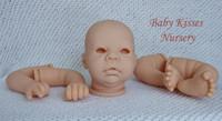 Benjamin Reborn Vinyl Doll Kit by Adrie Stoete